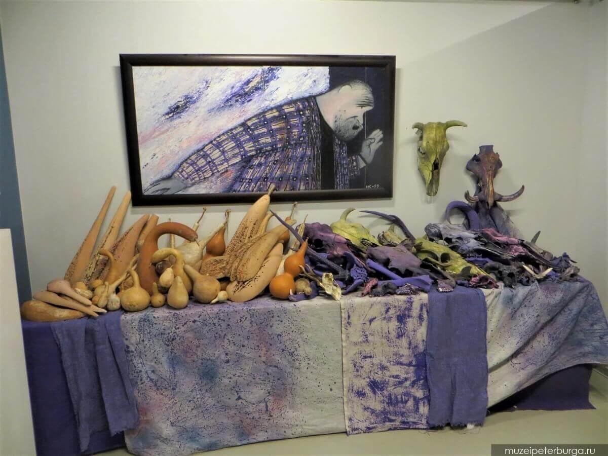 инсталляция Битва Эроса с Танатосом
